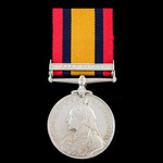 Queen's South Africa Medal, 1 Clasp: Cape Colony awarded to Private G.M. Hudson, City Imperial Vo...