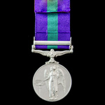 General Service Medal 1918-1962, GVI 2nd type bust, 1 Clasp: Malaya, awarded to Special Constable...