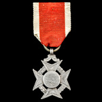 Hadleigh House School 'Sixes' Prize Medal in Silver, hallmarks for Birmingham with date letter 'c...