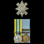 Korean War Ambush of 12th July 1952 Casualty pair awarded to Private J. Lewis, 1st Battalion, Roy...