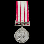 A scarce Naval General Service Medal 1909-1962, EIIR Dei.Grat. bust, 1 Clasp: Brunei, awarded to ...