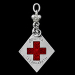 Russia - Imperial Russia: Membership Jetton for the Red Cross Society of Elizabeth under the Ausp...