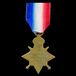 1914-1915 Star awarded to Private, later Corporal G. Everitt, Royal Warwickshire Regiment, who se...