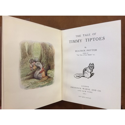 The Tale of Timmy Tiptoes   Marchpane