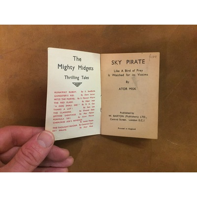Mighty Midgets no. 7: Sky Pirate (Home Front)