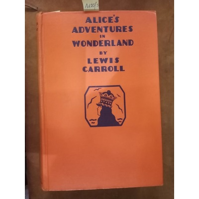 Alice's Adventures in Wonderland(illus A. E. Jackson)
