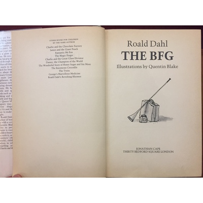 The BFG (incl signed photo of. | Marchpane