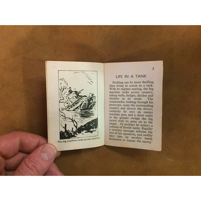 Tuck's Better Little Books: Life in a Tank (Home Front)