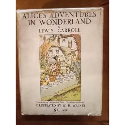 Alice's Adventures in Wonderland(illus W. H. Walker)
