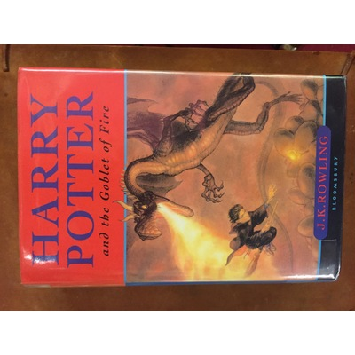 Harry Potter and the Goblet of Fire (signed)