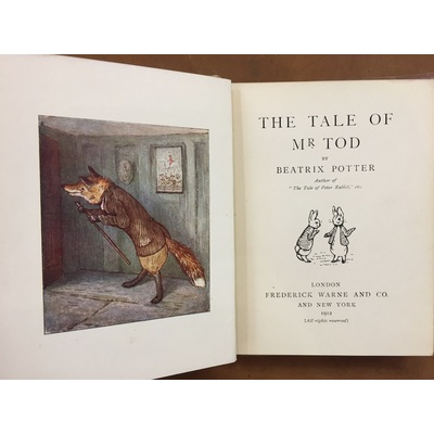 The Tale of Mr Tod | Marchpane