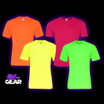 UV Reactive Cool-Dry Sports T-Shirts