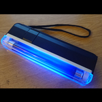 UV Battery Pack Tube 365nm 6 inch with torch