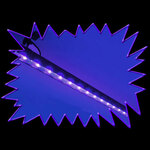 Ultra Violet LED Linear Bar Fixture With Remote Control - Pro Model - 54 Watt