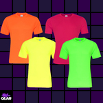 UV Reactive Cool Dry Sports T Shirts