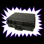 ABS Plastic Transport case for UV LED Sport Floodlights - ideal for roadshow eventing