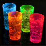 Blacklight UV-Reactive Neon Fluorescent Dayglo Re-usable Party Cups