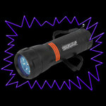 UV Gear Best Value 9 LED 365nm UV Torch