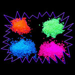 Blacklight UV-Reactive Neon Fluorescent Dayglo Decorative Acrylic Granules 1 kilo