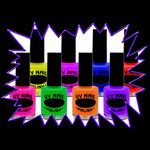 Blacklight UV-Reactive Neon Fluorescent Glow Dayglo Nail Varnish - value range