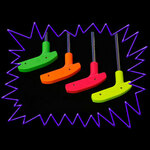 UV Reactive Blacklight Crazy Golf and Minigolf Glow Putter (Assorted Colours)