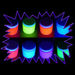 Blacklight UV-Reactive Neon Fluorescent Glow Dayglo