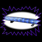 ULTRA VIOLET LED Linear Bar fixture with remote control & DMX - Pro Model - 54 Watt