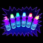 UV Reactive Child Safe Chubby Marker Set