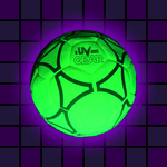 Blacklight UV-Reactive Neon Fluorescent Dayglo Indoor Felt Football