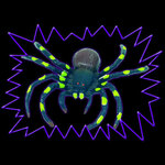 Ultra Violet Giant Spiders