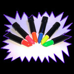 Blacklight UV-Reactive Neon Fluorescent Glow Dayglo Lipstick - value range