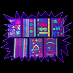 New UV Reactive Body Tattoo sheets - Variety of designs