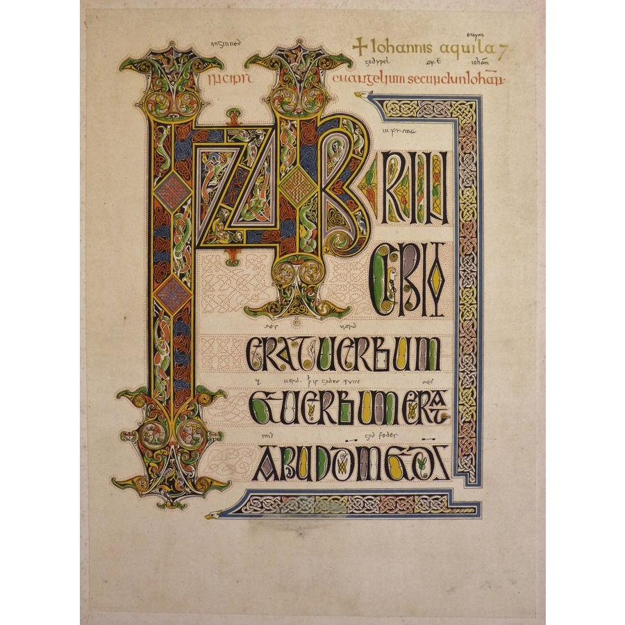 A missal of the seventh centu.   Storey's