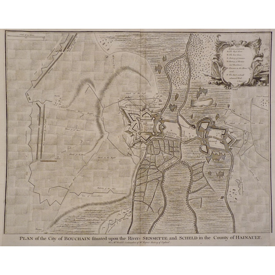 Plan of the city of bouchain . | Storey's