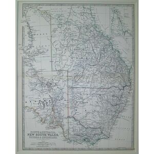 South australia, new south wales, victoria & queensland - johnston