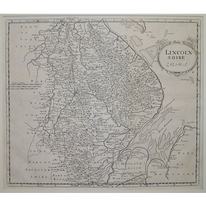 Morden ; Robert (1650 – 1703) Lincolnshire. Original antique map. First impression  Is well know ...