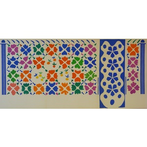 Matisse , Henri - Decoration Fruits. Original Lithograph Published In 1958 By Teriade For Verve M...