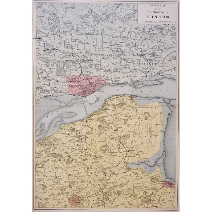 Dundee, Ordnance Map of the E. | Storey's