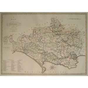 A map of dorsetshire