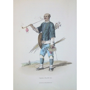 *plate xxxiv - a man with pipes for sale
