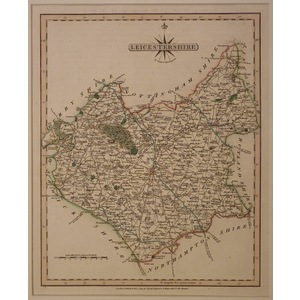 Leicestershire - cary 1793