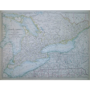 Canada with ontario - north america - sheet 3
