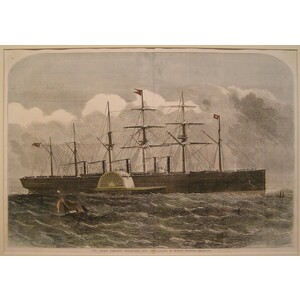 The great eastern steam ship 22,000 tons