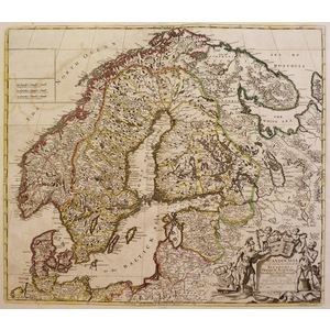 Scandinavia and its confines in which are the kingdoms sweden, norway &c