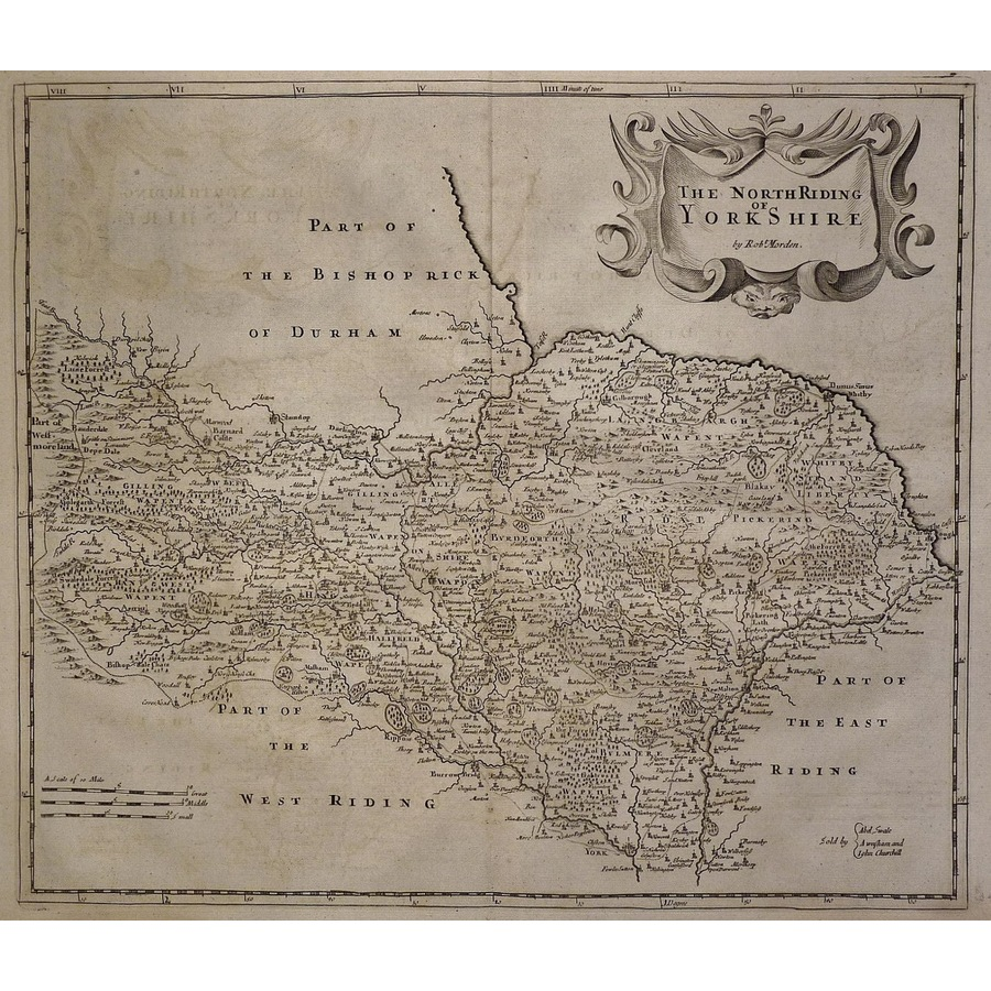 The north riding of yorkshire. | Storey's