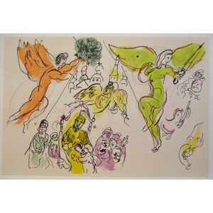 Les anges de l opera - from le plafond de l opera de paris - chagall