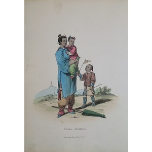 *plate xliv - a nursery maid and two children