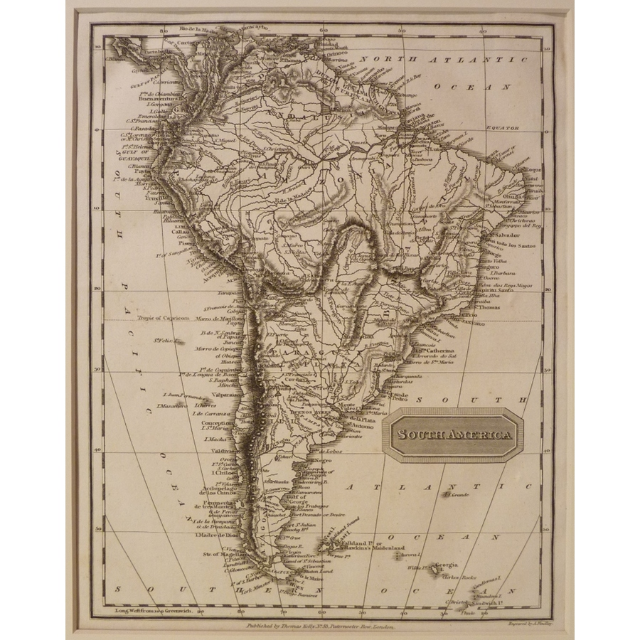 South america - kelly 1814 | Storey's
