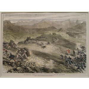 The afghan war: storming of the spingawai stockade, morning of dec. 2, 1878