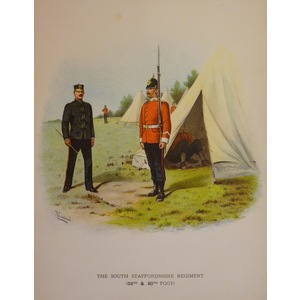 The south staffordshire regiment (38th & 80th foot)